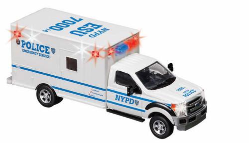 NYPD ESU Emergency Service Unit, White - Daron NY71599 -1/48 Scale Model Toy Car