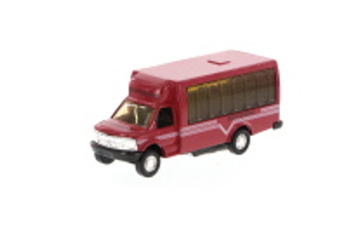 New York Tour Bus - Red, White - Showcasts 9808D - 4.75 Inch Scale Diecast Model Replica