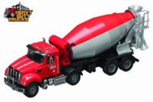 Heavy Duty Cement Mixer, Red - Daron GW9170 -  Diecast Model Toy Car