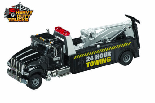 Heavy Duty Tow Truck, Black - Daron GW9180 - 1/50 Scale Diecast Model Toy Car