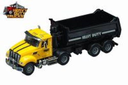 Heavy Duty Dump Truck, Yellow - Daron GW9160 - 1/50 Scale Diecast Model Toy Car