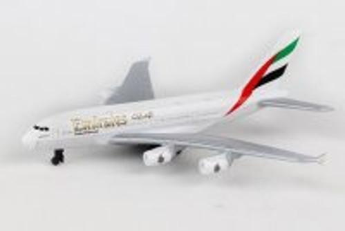 Emirates A380 Single Plane, White - Daron RT9904 - Diecast Model Airplane Replica