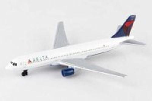 Delta Single Plane, White - Daron RT4994 - Diecast Model Airplane Replica