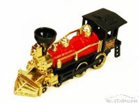 Classic Steam Locomotive Train, Red - Showcasts 9935D - 7 Inch Scale Diecast Model Replica (Brand New, but NOT IN BOX)