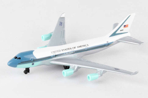 Air Force One Single Plane, White - Daron RT5734 - Diecast Model Airplane Replica