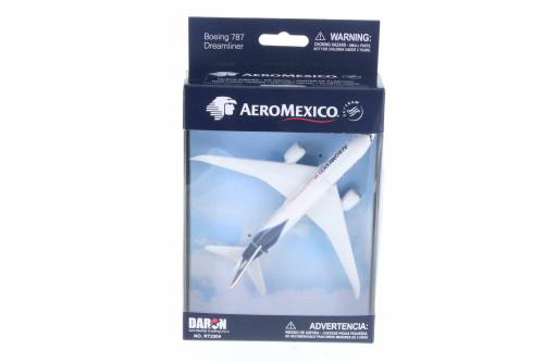 Aeromexico Boeing 787 Single Plane, White - Daron RT2204 -  Diecast Model Toy Car