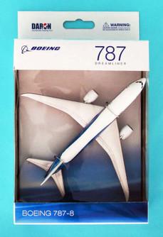 Boeing 787 Single Plane, White - Daron RT7474 - Diecast Model Airplane Replica