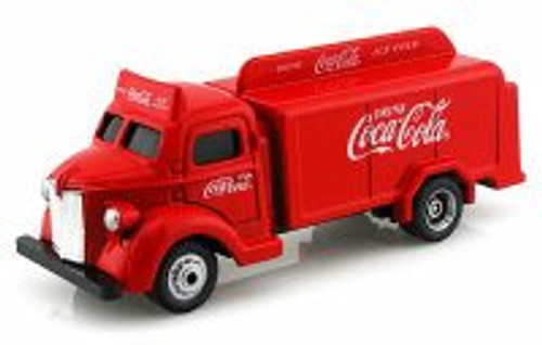 1947 Bottle Truck, Red - Motor City Coca-Cola 440537 - 1/87 scale Diecast Model Toy Cars