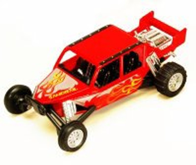 "Turbo Sandrail, Red - Kinsmart 5256D - 5"" Diecast Model Toy Car (Brand New, but NOT IN BOX)"