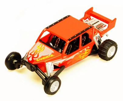 """Turbo Sandrail, Orange - Kinsmart 5256D - 5"""" Diecast Model Toy Car (Brand New, but NOT IN BOX)"""