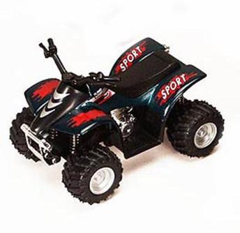 """Smart ATV, Green - Kinsmart 3506D - 3.5"""" Diecast Model Toy Car (Brand New, but NOT IN BOX)"""