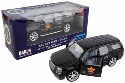 Presidential Secret Service SUV, Black - Daron HS5720 - Diecast Model Toy Car