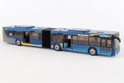 MTA Articulated Bus, Blue - Daron RT8571 - Diecast Model Toy Car