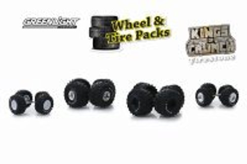 King of Crunch Wheel & Tire Packs Series 1, Kings of Crunch - Auto Body Shop - Greenlight 16010A/48 - 1/64 scale Diecast Model Toy Car