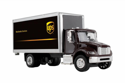 UPS Box Truck, Brown - Daron GWUPS001 - 1/50 scale Diecast Model Toy Car