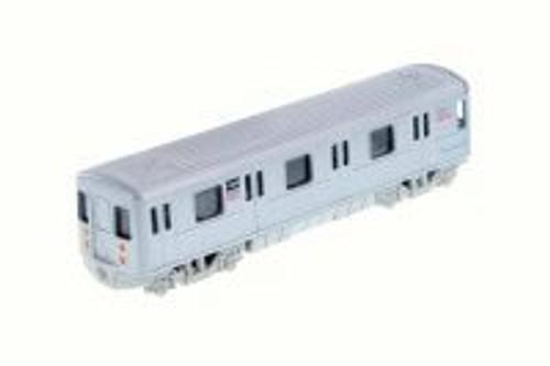 New York Metro Subway, Gray - Showcasts 2233DNY Diecast Model Pullback Train