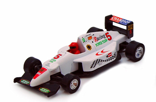 Sports Racer, White - Showcasts 9971D - 5 Inch Scale Diecast Model Replica
