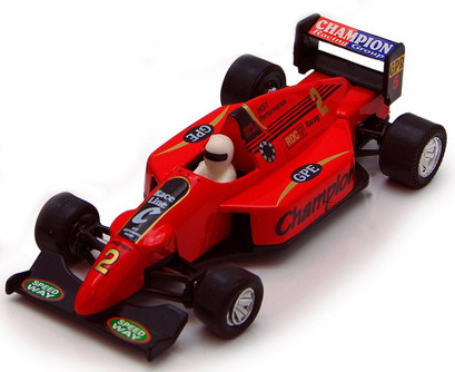 Sports Racer, Red - Showcasts 9971D - 5 Inch Scale Diecast Model Replica