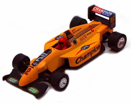 Sports Racer, Orange - Showcasts 9971D - 5 Inch Scale Diecast Model Replica