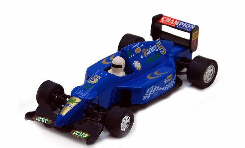 Sports Racer, Blue - Showcasts 9971D - 5 Inch Scale Diecast Model Replica