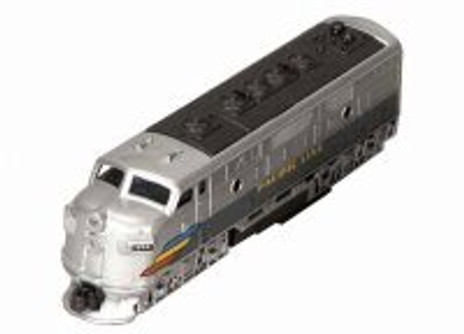Classic Locomotive, Silver - Showcasts 9933D - 7.5 Inch Scale Diecast Model Replica