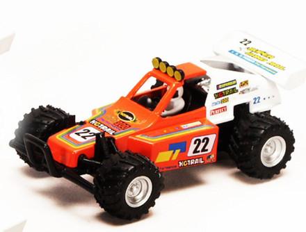 "Turbo Buggy #22, Orange - Kinsmart 5106D - 5"" Diecast Model Toy Car"