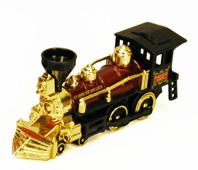 Classic Team Locomotive Train, Burgundy with Gold - Showcasts 9935D - 7 Inch Scale Diecast Model Replica