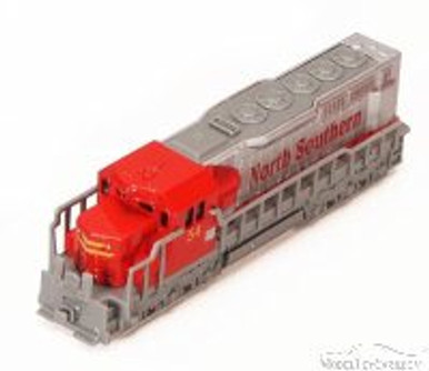 Freight Locomotive, Red - Showcasts 9934D - 6.75 Inch Scale Diecast Model Replica