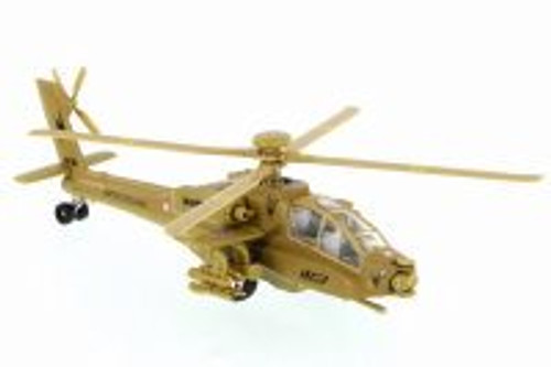 X Forces Attack Helicopter, Desert Tan - Showcasts 51265 - Diecast Model Toy Car