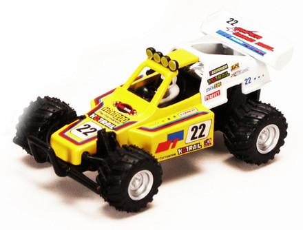 "Turbo Buggy #22, Yellow - Kinsmart 5106D - 5"" Diecast Model Toy Car"