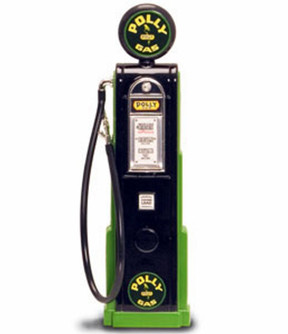 Digital Gas Pump Polly Gas, Black - Yatming 98781 - 1/18 scale diecast model
