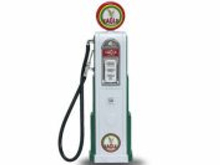 Digital Gas Pump Eagle 1, White - Yatming 98611 - 1/18 scale diecast model
