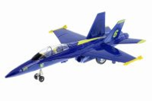 U.S Navy F-18, Hornet Blue Angels - Playmaker 51301 - Diecast Model Toy Car