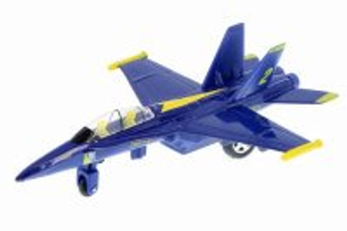 U.S Navy F-18, Hornet Blue Angels - Playmaker 51300 - Diecast Model Toy Car