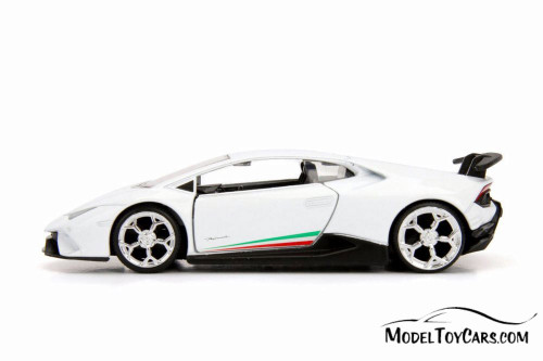 2017 Lamborghini Huracan Performante Hard Top, White - Jada 30105WA1 - 1/32 scale Diecast Model Toy Car