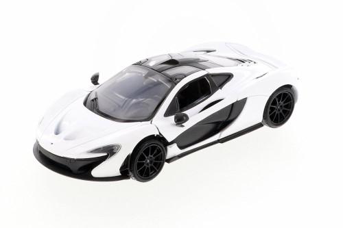 McLaren P1, White - Showcasts 79325/26D - 1/24 scale Diecast Model Toy Car