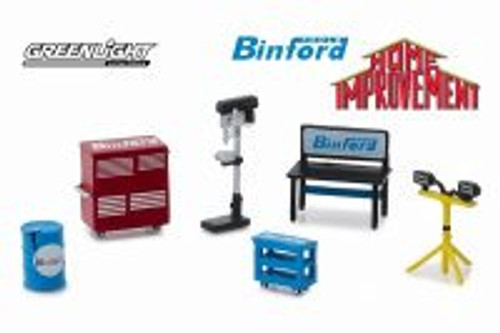 Muscle Shop Tools Binford, Home Improvement - Greenlight 13175/48 - 1/64 scale Diecast Accessory