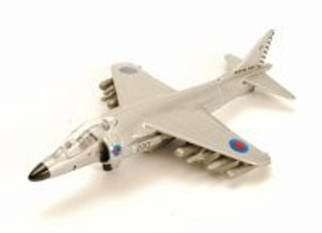 Boeing VA-8B Harrier II, Silver - Motor Max 77000DT/A5 - Diecast Model Toy Car