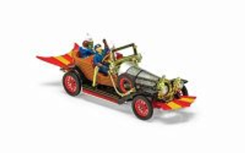 Chitty Chitty Bang Bang, Black with Brown and Silver - Corgi CG03502 - 1/45 scale Diecast Model Toy Car