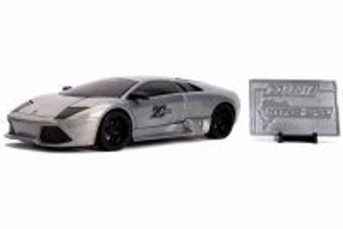 Lamborghini Murcielago Hardtop with Diecast Mosaic Tile, 20th Anniversary - Jada 31084 - 1/24 scale Diecast Model Toy Car