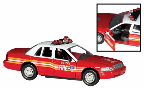 Fire Chief'S Car, FDNY - Daron RT8730 - Diecast Model Toy Car