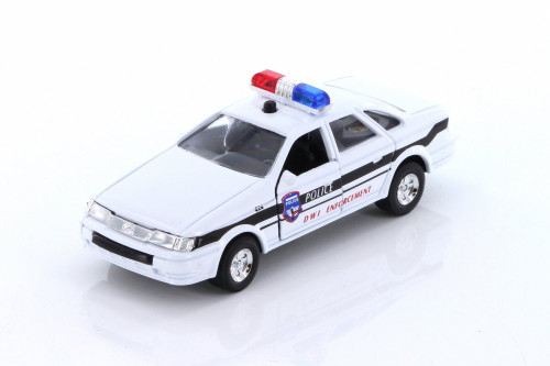 Sonic State Rescue Car, White - Showcasts 5030IC - 1/32 scale Diecast Model Toy Car