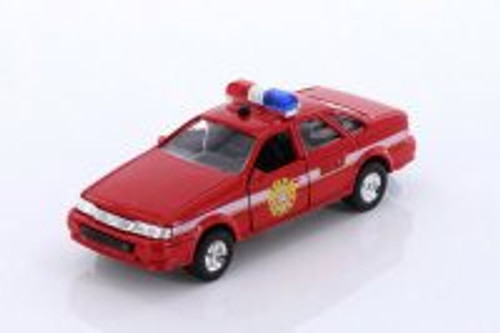 Sonic State Rescue Car, Red - Showcasts 5030IC - 1/32 scale Diecast Model Toy Car