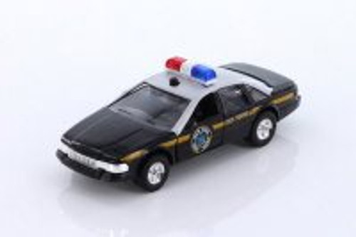 Sonic State Rescue Car, Black - Showcasts 5030IC - 1/32 scale Diecast Model Toy Car