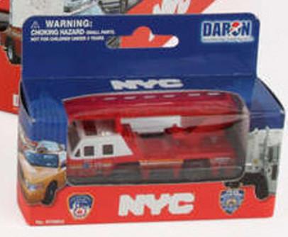 FDNY Firetruck, Red - Daron RT8953F - Diecast Model Toy Car