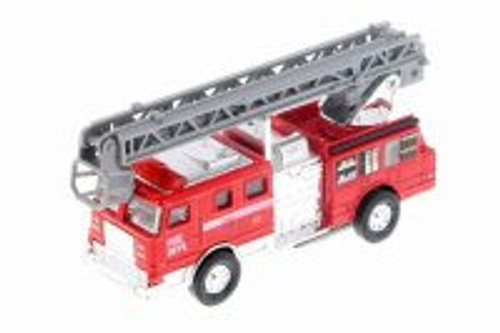 Fire Engine Ladder, Red - Showcasts 9921D - 1/32 scale Diecast Model Toy Car