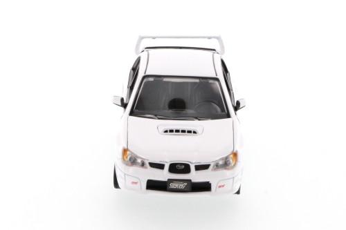 Subaru Impreza WRX, White - Showcasts 73330 - 1/24 Scale Diecast Model Toy Car (Brand New, but NOT IN BOX)
