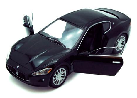 Maserati Gran Turismo, Black - Showcasts 73361 - 1/24 Scale Diecast Model Toy Car (Brand New, but NOT IN BOX)
