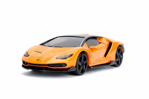 2017 Lamborghini Centenario Hard Top, Orange - Jada 99513DP1 - 1/32 Scale Diecast Model Toy Car