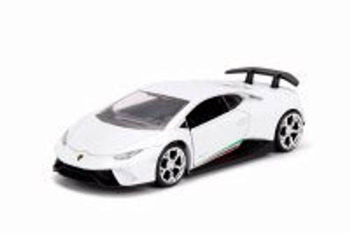 2017 Lamborghini Huracan Performante Hard Top, White - Jada 30108DP1 - 1/32 scale Diecast Model Toy Car